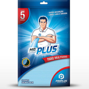 Mr. Plus Pacote com 5 unidades